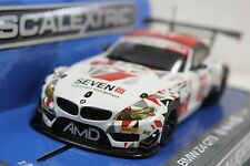 SCALEXTRIC C3848 BMW Z4 GT3 AMD TUNING W/LIGHTS NEW 1/32 SLOT CAR DPR