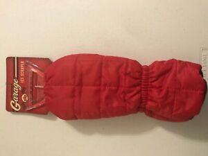 Ice Scraper Mitt Windshield Snow Remover Glove Lined