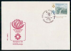 Mayfairstamps YUGOSLAVIA FDC 1984 COVER WINTER OLYMPICS SARAJEVO wwi93141