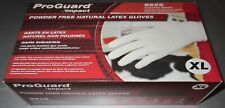 300 Gloves Latex Powder Free Extra Large Xl Disposable Industrial 3 Boxes of 100