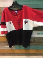 Pro Player Chicago Bulls Warmup Shirt Vintage 90s Men's X Large XL