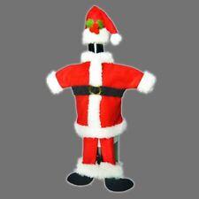 Babbo Natale Rosso/Bianco Coperchio Bottiglia Di Vino Borse Regalo di Natale champagne Tavolo Decor