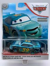 Disney Pixar Cars Diecast Metallic Ryan Shields Scavenger Hunt Special Edition