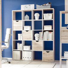 Regal / Raumteiler Sandeiche/ WEISS Woody 32-00142