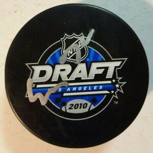Autographed EVGENY KUZNETSOV Signed 2010 NHL DRAFT Hockey Puck Capitals