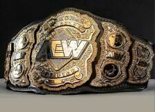NEW AEW TITLE WORLD WRESTLING CHAMPIONSHIP BELT REPLICA BELT 6mm (ZINC) PLATES