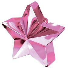 Pink Star Heavy Balloon Weight Helium Foil Birthday Wedding Party Decoration