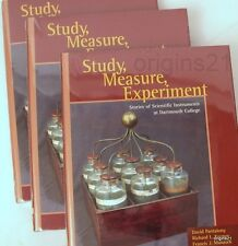 NEW 3 books Study Measure Experiment Stories of SCIENTIFIC INSTRUMENTS Dartmouth
