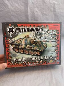 21st Century Toys-Motorworks 1:32 Scale German Panther Ausf G Tank NEW/FREE SHIP