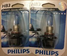 HB3  PHILIPS BLUEVISION ULTRA POWER CAR BULBS PHILIPS HB3 BLUE VISION ULTRA 9005
