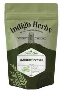 Indigo Herbs Uva ursi Bearberry Powder 100g - 250g Full Spectrum