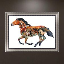 Various Horse DIY 5D Diamond Embroidery Painting Cross Stitch Home Decor Craft