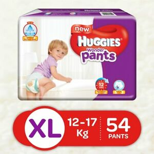 Huggies Wonder Pants Extra Large Size Diapers (54 Count) Free shipping worldwide