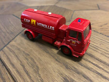 Solido Mercedes Benz Fire Engine Truck Lorry C.S.P Vitrolles Red France 1/50