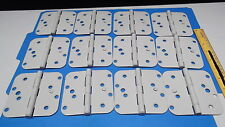 HAGER METAL DOOR HINGE 12 PIECES MODEL# RC-A-458 SIZE 4.0' X 4.0'  REMOVABLE PIN