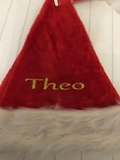 Personalised Furry Santa Hat