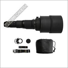 NIKON NIKKOR Ai-S 600mm F4 F/4 ED IF SUPER TELEPHOTO LENS W/ ALUMI CASE & ACC