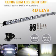 "36"" inch 4D Slim LED Work Light Bar Single Row Offroad Driving Car Truck 4X4 37"""