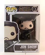 Dañado Second-Juego de Tronos Jon Snow Vinilo Figura Pop Nuevo