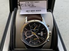NEW Raymond Weil Freelancer Chronograph Brown Leather Men's Watch 7730-STC-20021