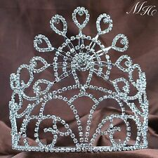 Marvelous Bridal Silver Tiaras With Hair Combs Crystal Crowns Prom Pageant Party