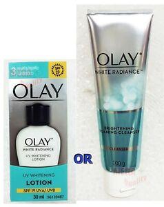 OLAY WHITE RADIANCE UV WHITENING LOTION SPF 19 UVA UVB 30 ml.