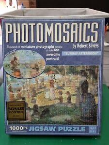 "Jigsaw Puzzle - Photomosaics by Robert Silvers ""SUNDAY AFTERNOON"" BRAND NEW  AU"