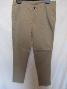 """LIU.JO Women's Sand Chino Style Trousers ;Size 30 / UK Waist 34"""", Leg 31"""""""