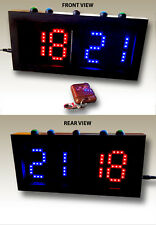 """Double Sided Scoreboard (3"""" digits) - Remote & Direct Control"""