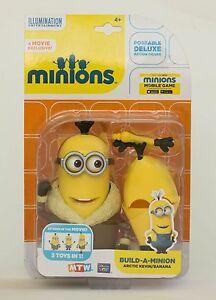 Minions Deluxe Action Figur Minion Arctic Kevin - Banana NEU