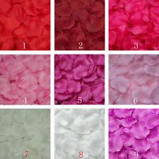 500/1000PCS Wedding Party Decoration  Flowers Silk Rose Petals Table Confetti