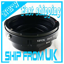 Kipon Pentax 67 P67 lens to Nikon F Mount Shift Adapter D3X D4 D610 D800 D7100