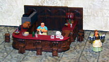 Painted Basic Bar Furniture Set - Works with Dwarven Forge & DnD D&D