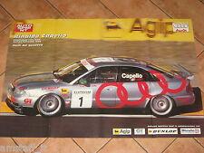 # POSTER RINALDO CAPELLO AUDI A4 CAMPIONE SUPERTURISMO 1996 ITALIA CM.81X54 AF3