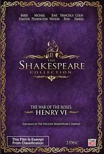 The Shakespeare Collection - Henry VI War of the Roses (DVD, 2011)