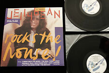"Jellybean JELLYBEAN ROCKS THE HOUSE 12"" MIXES 2 LP - 1988 NM/EX PROMO CHRYSALIS"