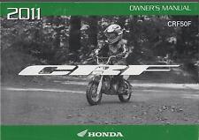 2011 HONDA MOTORCYCLE CRF50F OWNER'S MANUAL (435)