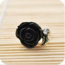 Retro rose of female ring Can be adjusted 3 colors
