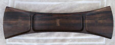 """Mid-Century Jens H. Quistgaard """"Bow Tie"""" Palisander Rosewood Tray from Dansk"""