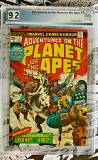 ADVENTURES ON THE PLANET OF THE APES #1   |   PGX 9.2   |   White pages