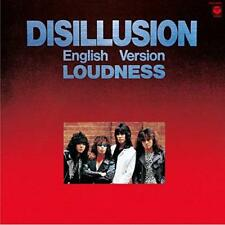 Loudness DISILLUSION English Version -Japan New CD +Tracking Number