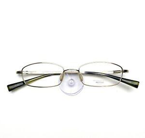 Oliver Peoples Eyeglasses 670 Titanium New Authentic 49-17-135