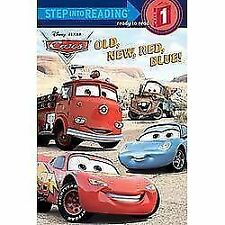 Old, New, Red, Blue! (Step into Reading) (Cars movie tie in) by RH Disney