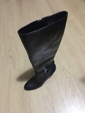 Polo Ralph Lauren Ladies Leather Boots Size UK 4.5 / US 6.5 New