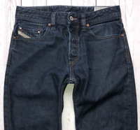 Mens DIESEL Larkee-Relaxed Jeans W28 L30 Blue Comfort Straight Fit Wash 0088Z