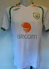 REPUBLIC OF IRELAND 2008/09 S/S AWAY SHIRT  BY UMBRO SIZE XL/BOYS NEW