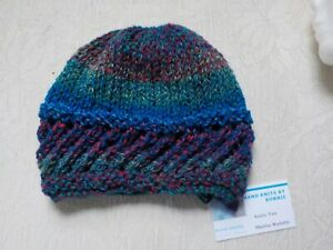 Acrylic - Hand Knit Hat/Watch Cap/Beanie - Choice of 9 Colors - Style #3