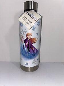 """Disney Frozen 2 S.Steel Water Bottle """"Anna & Elsa"""""""