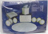 NEW SEALED Vintage CANDLEWICKING ACCENTS 3 MINIATURE OVALS #809 Embroidery Kit