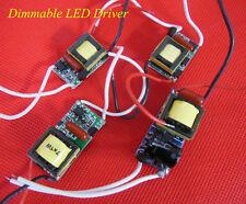 AC110V/220V 3W,4W,5W 7W 10W 15W Dimmable LED Driver Power Supply for LED Light